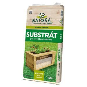AGRO CS NATURA Substrát pro vyvýšené záhony 50 l