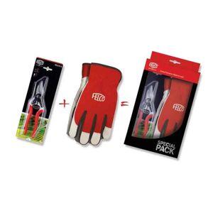 Nůžky FELCO 6 + rukavice S-M (dárkový set)