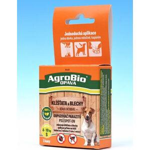 AgroBio ATAK Ektosol SpotOn - Odpuzovač parazitů psů balení XS