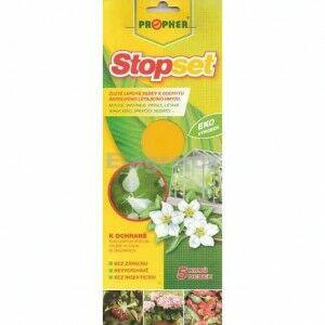 AgroBio Stopset desky - 10x25 žluté